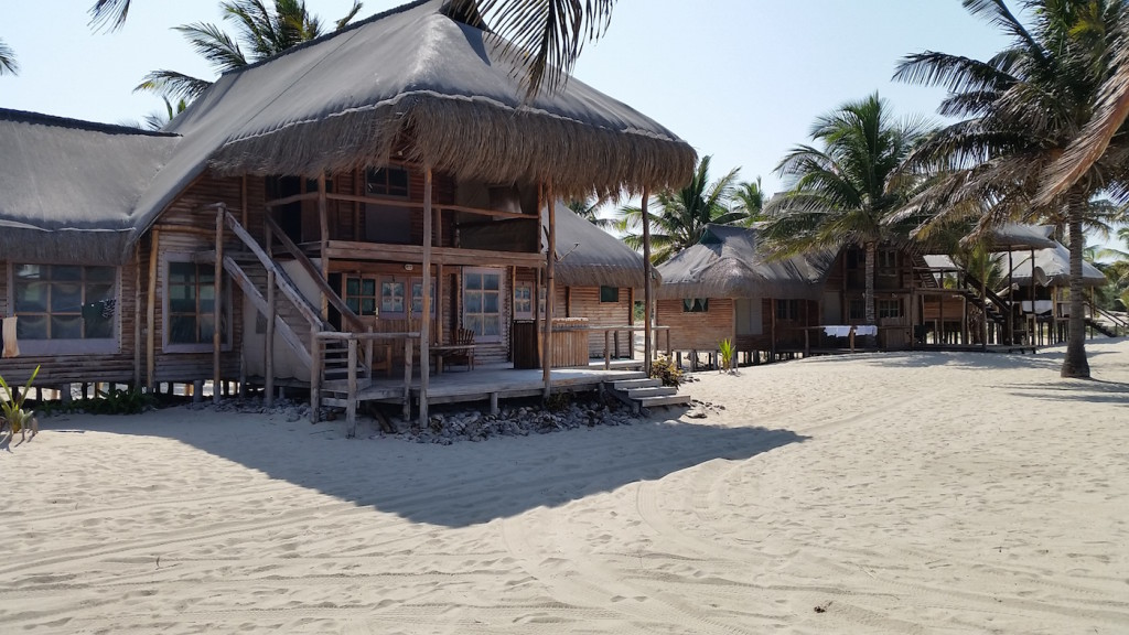Daniels Beach House in Linga near Morrumbene Mozambique