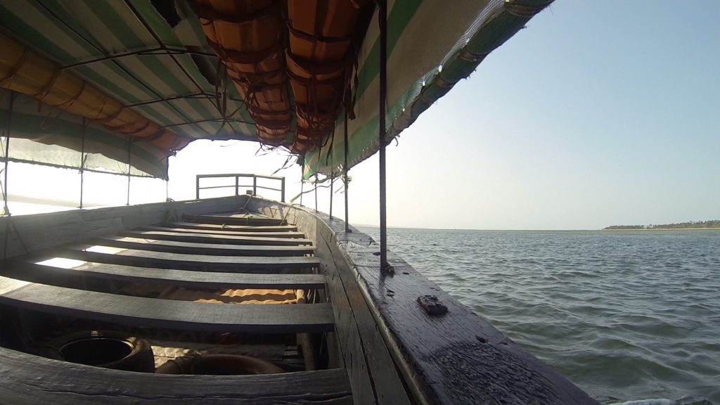 Boat transfer from Inhambane to Linga Mozambique